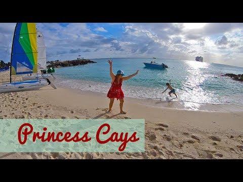 Panama Canal Cruise - Day 2 Princess Cays