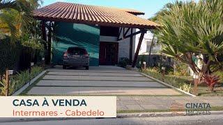 🚫indisponível- Casa em condomínio fechado no Village Intermares, R$ 1.100.000,00
