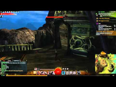 Guild Wars 2 Laughing Gull Island Hero Point of Interest (Bloodtide Coast) in Heart of Thorns