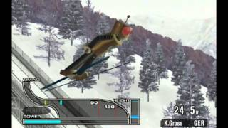 ESPN International Winter Sports (Gamecube) - Ski Jumping K120 - 337 points