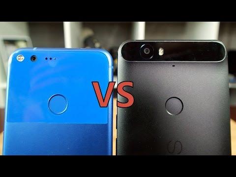 Google Pixel XL vs Nexus 6P: Smaller screen, bigger price…