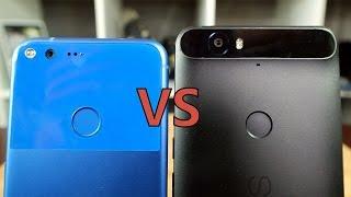Google Pixel XL vs Nexus 6P: Smaller screen, bigger price...
