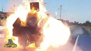 THE WILDEST NITRO FUNNY CAR EXPLOSION EVER!!!