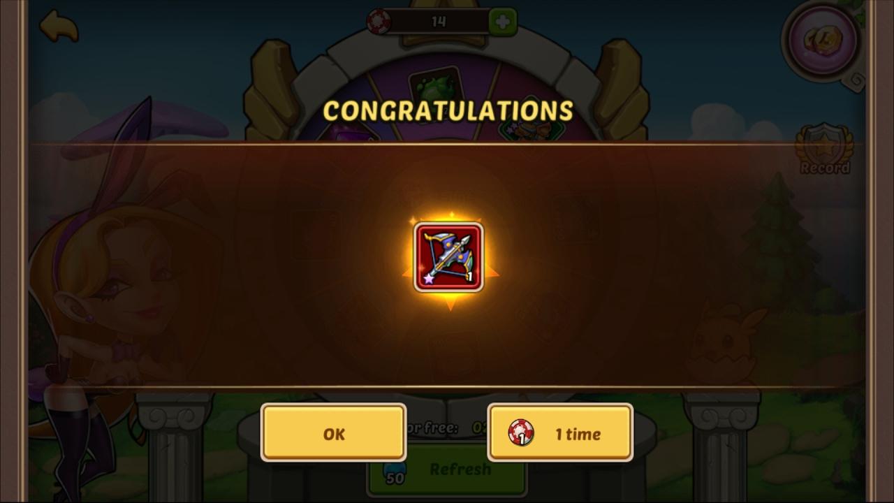 idle heroes casino 10 draw