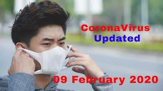 Coronavirus   Updated: 09 February 2020   Infected: 37.592 ( 7,51%)   Deaths: 814 ( 12,27%)