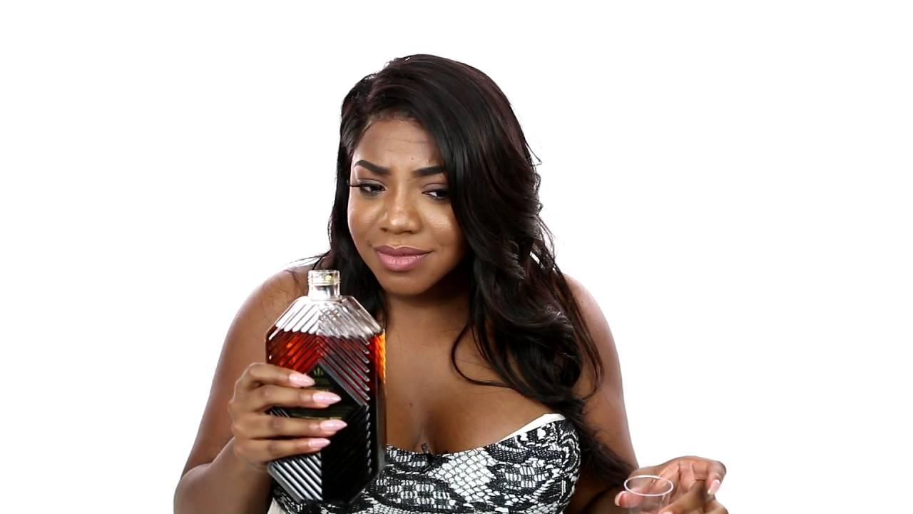 Nadia Rose Taste Tests Drake -8070
