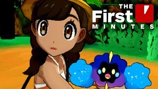 The First 18 Minutes of Pokemon: Ultra Sun