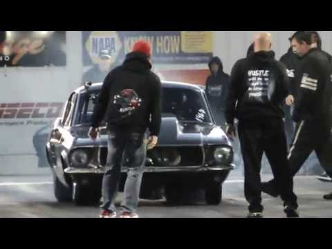 Helleanor twin turbo 67 Mustang at Redemption 6.0