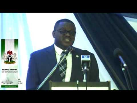 Ministerial Press Briefing 2014: Presentation by the Minister of Health, Onyebuchi Chukwu
