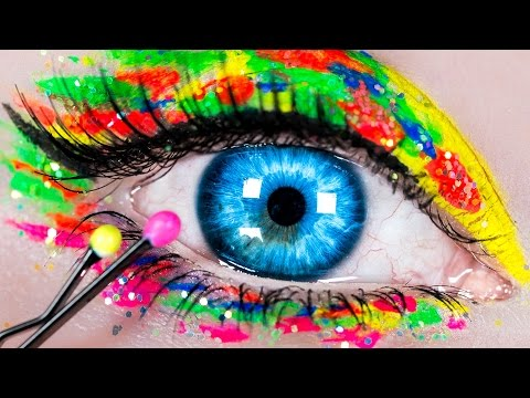 DIY Makeup Hacks! Makeup Tutorial with 10 DIY Makeup Life Hacks for Beginners