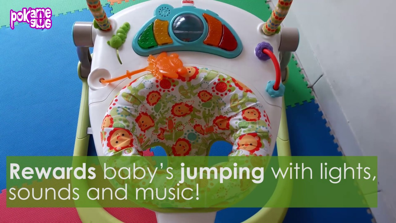 489d35a1c103 Fisher Price Rainforest Friends SpaceSaver Jumperoo by Pok Ame Ame ...