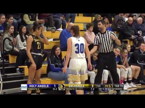 High School Girls Basketball: Holy Angels vs. DeLaSalle