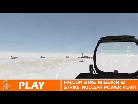 Falcon BMS Mission 12: Nuclear Power Plant Strike