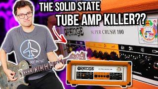 An Affordable Tube Amp KILLER?? || Orange Super Crush 100