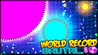 WORLD RECORD FOR THE BIGGEST BALL! w/ Simon | THE BEST NEW IO GAME (Brutal.io Gameplay)