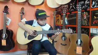 Tselmeg  | The Myth - Endless Love Guitar Cover 8 years Old Guitarist