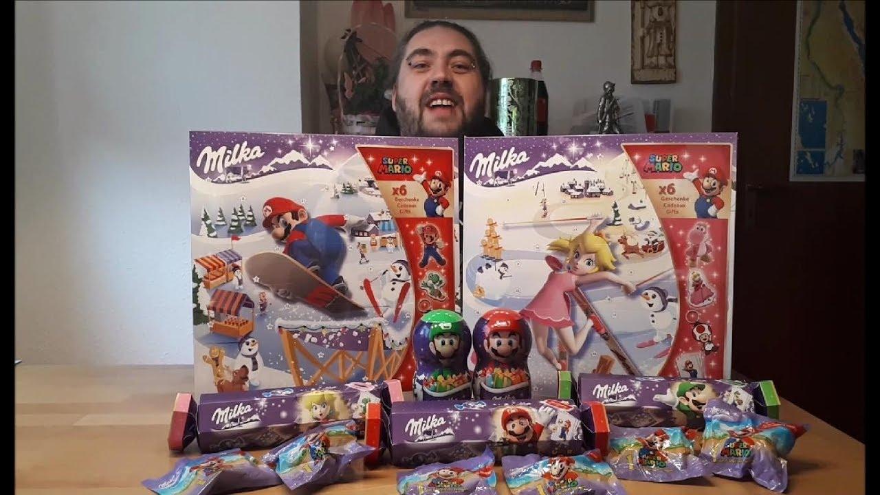 Milka Weihnachtskalender.Turchen Nr 1 Milka Mario Adventskalender Und Produkte