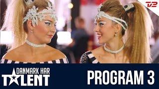 Discodanserne Tea & Malene - Danmark har talent - Program 3