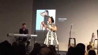 Demi Lovato - Stone Cold (Live from Apple Store)