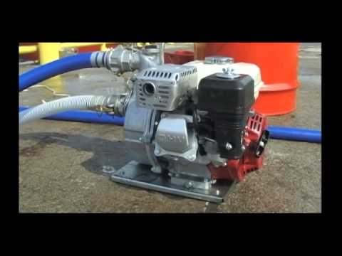 Honda De-Watering Pump - How to set up and Use
