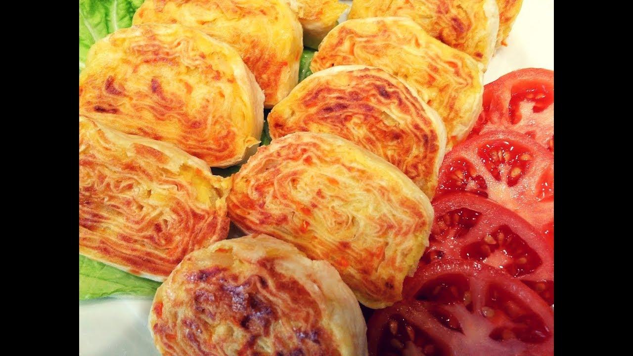 Картофельная закуска из лаваша.Хоть каждый день готовь- всё будет мало.Рулет с картошкой.With potato