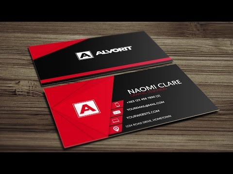 Modern Business Card in CorelDraw - Creative Arts™