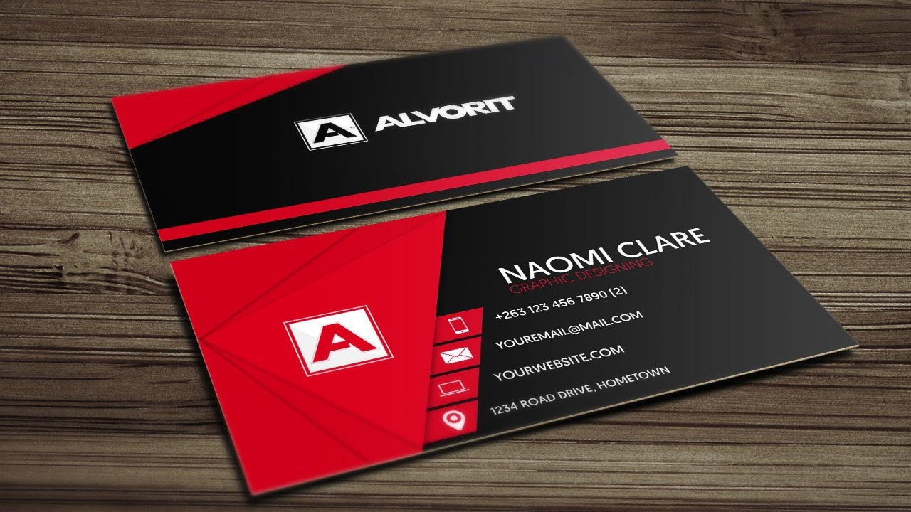 Visiting Card Design Fashion Designer