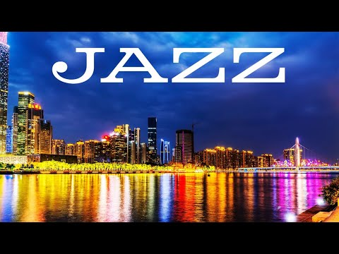 Midnight Saxophone JAZZ - Delicate Night City JAZZ for Calm - Chill Out Music