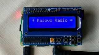Internetové rádio - Raspberry Pi