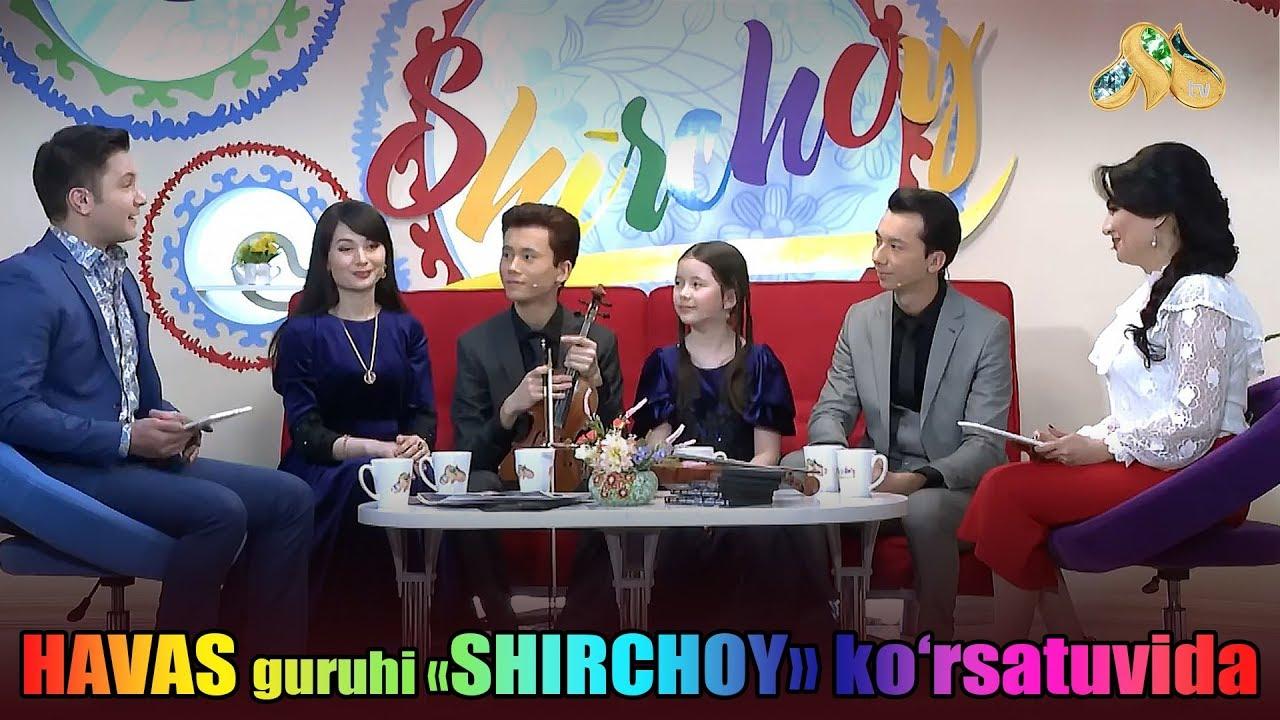 Havas guruhi. Milliy TV. Shirchoy ko'rsatuvida. Uzbekistan 06.02.2018