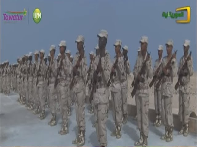 تخرج أول دفعة جنود من قاعدة خفر السواحل الموريتانية | قناة الموريتانية