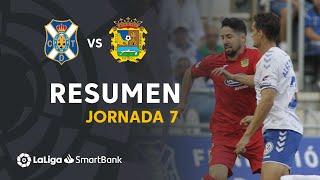 Resumen de CD Tenerife vs CF Fuenlabrada (0-1)