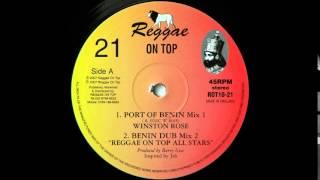 "10"" Winston Rose/Reggae On Top All Stars - Port Of Benin Mix 1/Mix 2"
