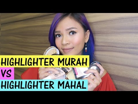 Highlighter Haul: 60Ribuan VS 700Ribuan Bagusan Mana?