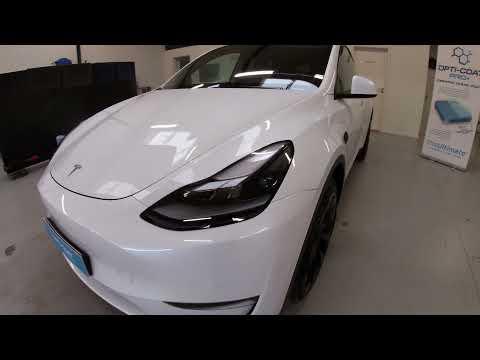 Tesla Model Y premium 7 års keramisk coating