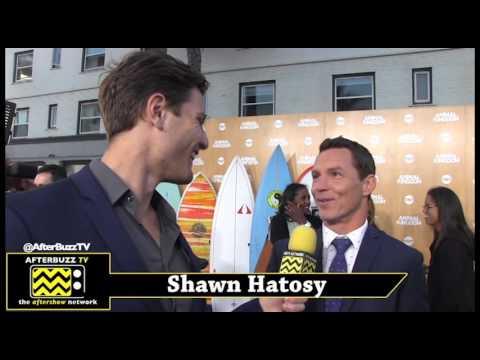 Shawn Hatosy Interview   TNT Animal Kingdom Premiere