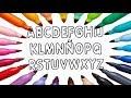 Alfabeto Para Niños Dibuja y Colorea Letras -s Educativos - Learn Colors / FunKeep
