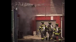 Paterson NJ Fire Department 2nd Alarm Fire at Father English 439 Main St Nov 2nd 2017