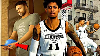 NBA 2K20 MyCAREER: The Journey #12 - ROC CHOOSING A COLLEGE LIVE ON TV! UNDER ARMOUR ELITE GAME!