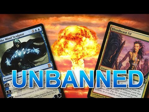 JACE (and Bloodbraid Elf) UNBANNED in Modern - Thought and Deckbuilding!