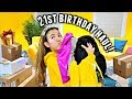 MY 21st BIRTHDAY CLOTHING HAUL!👠🥂 Okurr! Getting basic and bougie for Las Vegas!