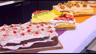 الكيكة الاسفنجية - طرق تزيين مختلفة | أميرة في المطبخ حلقة كاملة