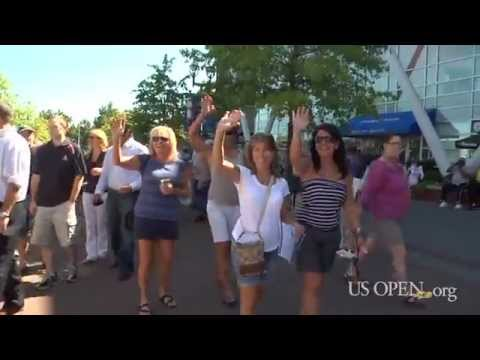 2011 US Open: Day One Excitement