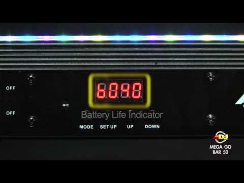 American DJ Mega GO Bar 50