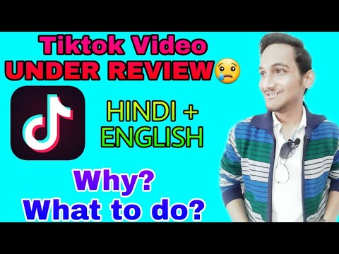 Tiktok Video Under Review | Tiktok This Video Is Under Review And Can Not Be Shared