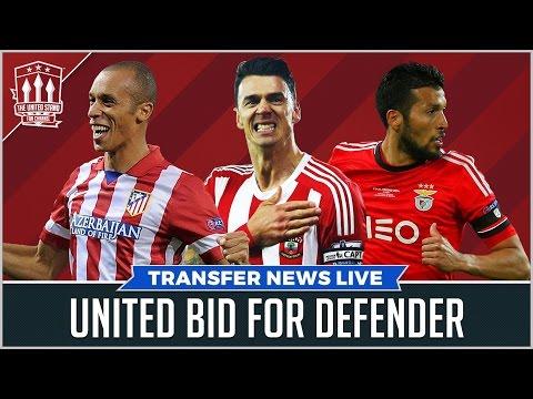 MOURINHO BIDS for Defender | MAN UTD TRANSFER NEWS