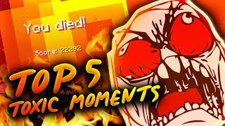 Top 5 TOXIC Moments in Minecraft [Explicit]