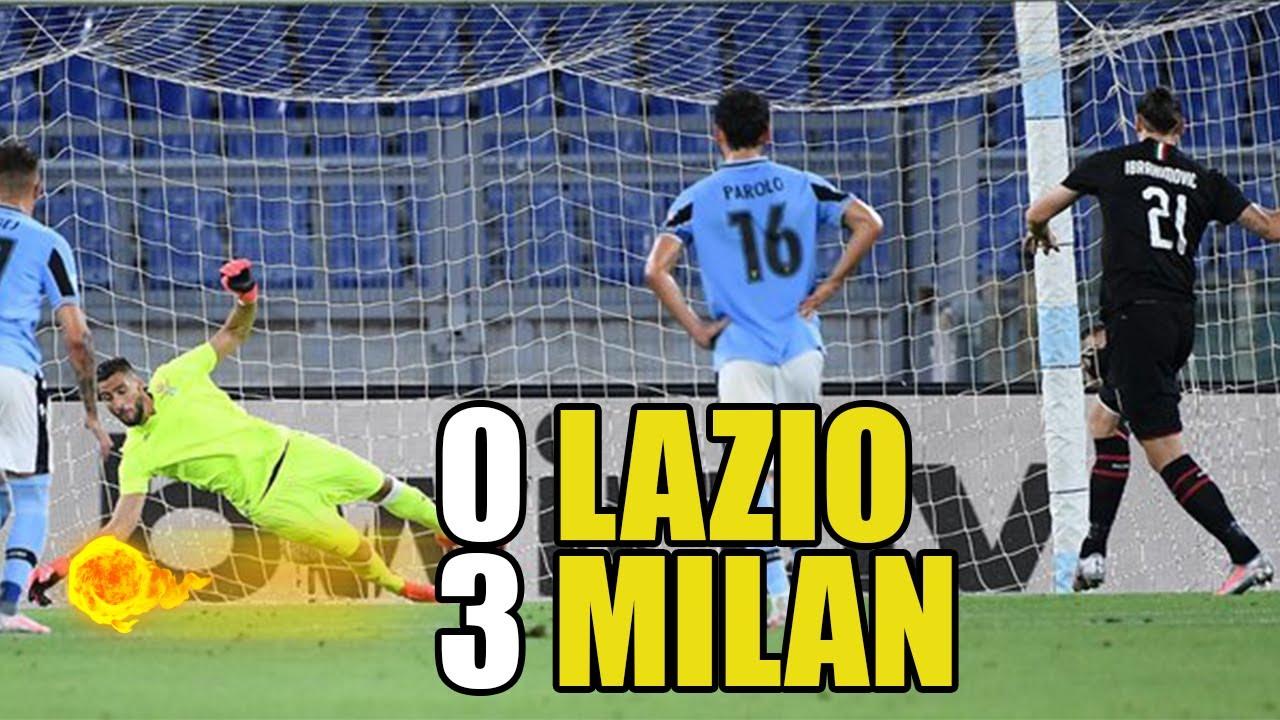 RIASSUNTO LAZIO-MILAN 0-3 | DRAW MY MATCH |