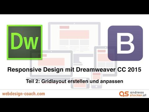 Teil 2: Responsive Design mit Dreamweaver CC 2015 und Bootstrap ...