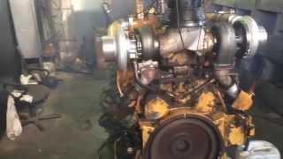 Пробный запуск и обкатка двигателя Caterpillar 3412 после капитального ремонта(Компания Теодолит уже много лет специализируется на ремонте и обслуживании дизельных двигателей промышле..., 2015-03-03T15:11:03.000Z)